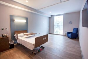 Hemo-dialysis bed-side in private suites